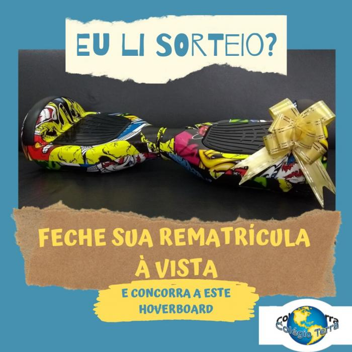 Sorteio do Hoverboard